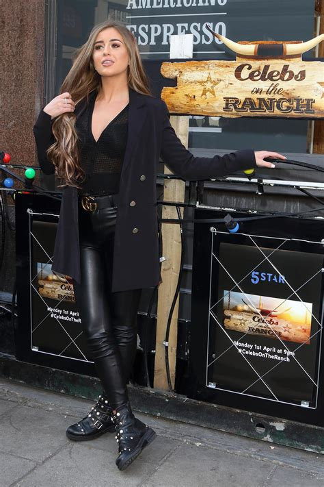 georgia steel attends  ranch launch leather celebrities