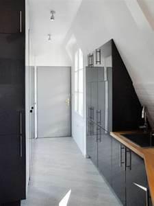 le placard sous pente trouvez une inspiration With meuble pour petite cuisine 9 les meubles sous pente solutions creatives archzine fr