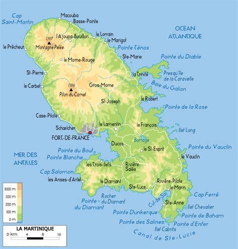 Localisation Martinique Carte Monde by La Martinique Arts Et Voyages