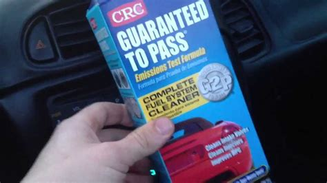 how to pass emissions with check engine light on crc guaranteed to pass formula how to use