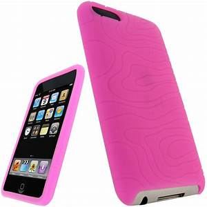 Pink Silicone Case for Apple iPod Touch 2nd 3rd Gen 2G 3G ...