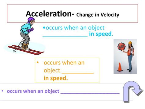 PPT - Acceleration- Change in Velocity PowerPoint ...