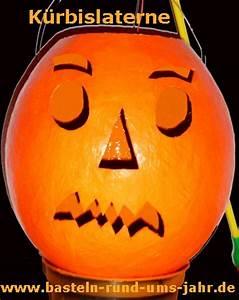 Halloween Basteln Gruselig : k rbislaterne f r st martin oder halloween basteln rund ums jahr ~ Whattoseeinmadrid.com Haus und Dekorationen