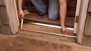 comment poser une barre de seuil de porte en aluminium With barre de seuil porte d entree