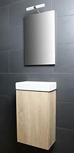 Gäste Wc Spiegel Mit Beleuchtung : galdem bad set waschbecken unterschrank spiegel mit beleuchtung mein ~ Indierocktalk.com Haus und Dekorationen