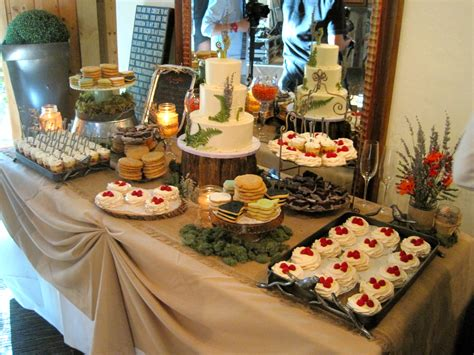 Dessert Table Copper Goat Confections