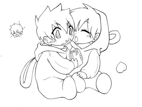 Anime Boy Coloring Pages Page Image Clipart Images