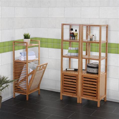 badezimmer set narita badschrank waeschekorb standregal