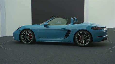 All New 2016 Porsche 718 Boxster  Vehicle Design (en