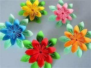 Blumen Aus Papier : origami starry revolution my crafts and diy projects ~ Udekor.club Haus und Dekorationen
