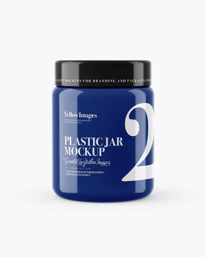 All objects are separate layer groups with plenty of layers for more control.file type: 250ml Glossy Plastic Jar PSD Mockup