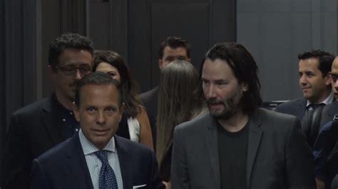 O Encontro De João Doria Com Keanu Reeves No Palácio Dos