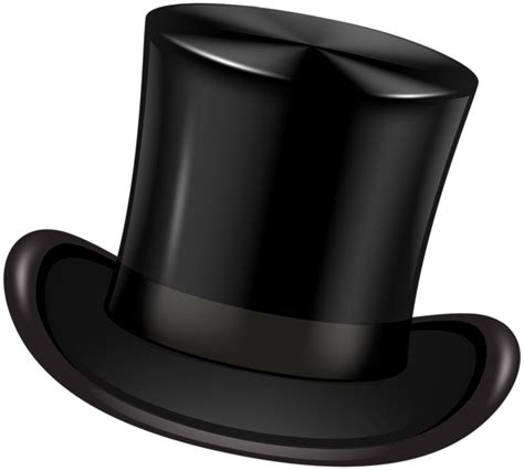 Transparent Background Hat Clipart Png by Black Top Hat Transparent Clip Png Image Gallery