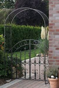 Pergola Mit Tor : rosenbogen selber bauen elegant gardener rosenbogen laura ~ Michelbontemps.com Haus und Dekorationen