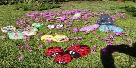 hermosas ideas  decorar tu jardin  piedras