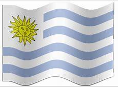 Animated Uruguay flag Country flag of abFlagscom gif