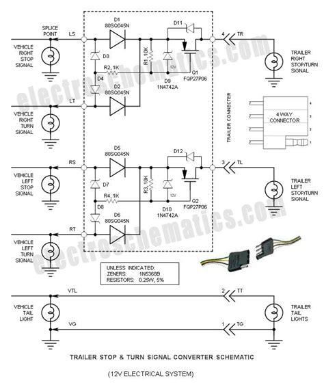 Trailer Wiring Converter Diagram by Trailer Stop Turn Signal Converter