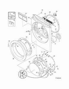 Frigidaire Model Aeq6700fs0 Residential Dryer Genuine Parts