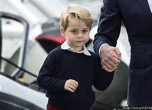 Prince George Attends His First Day of School With Prince ...