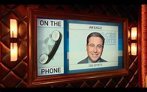 CBS Sports Broadcaster Ian Eagle Calls In to The RE Show ...
