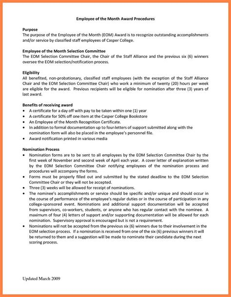 nomination letter sample  coworker payment format