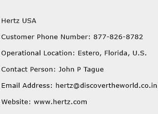 hertz phone number hertz usa customer service phone number toll free