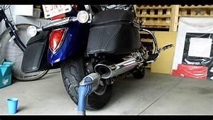 2007 Yamaha V-star 1300 Motorcycle Exhaust Modifcation