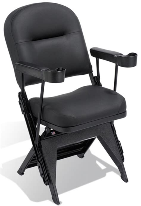 vip series upholstered seat and back folding chair with