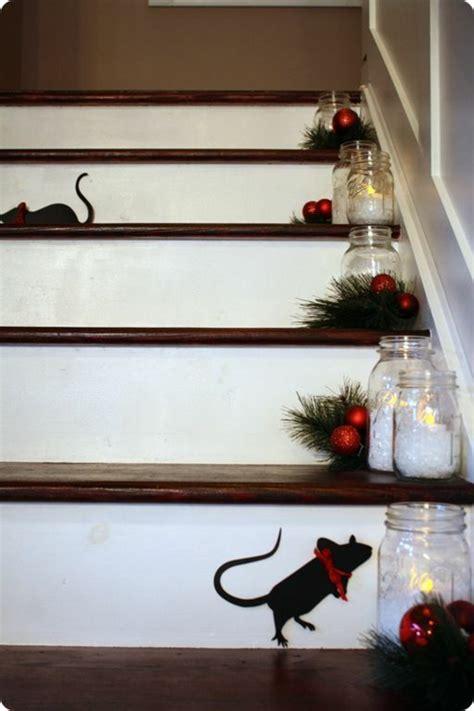 Treppe Weihnachtlich Dekorieren by 1001 Dekoideen Weihnachten Das Treppenhaus