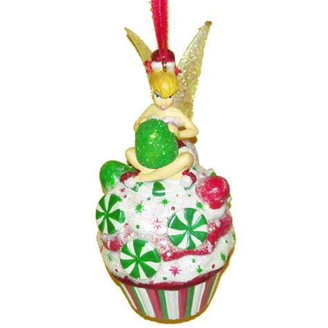 disney christmas ornament tinker bell cupcake