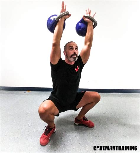 squat variations kettlebell squats equipment goblet cavemantraining