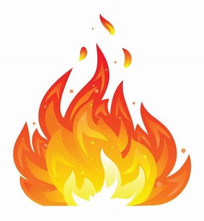Fire Icon Illustration Flames Sticker Simple Pitta