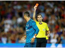 Barcelona vs Real Madrid Zidane speaks on Ronaldo's red