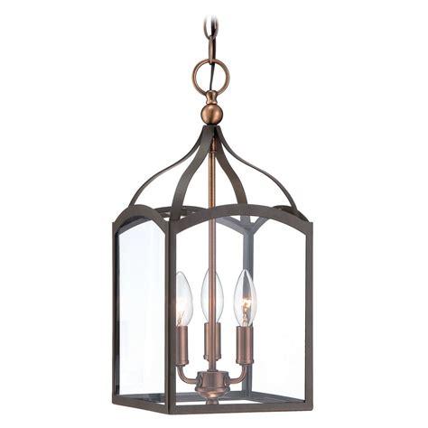 mini lantern pendant light hinkley lighting clarendon bronze mini pendant light with
