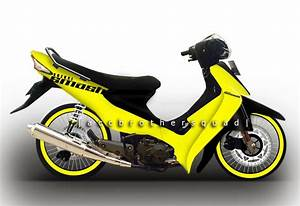 Modifikasi Suzuki Smash 2004