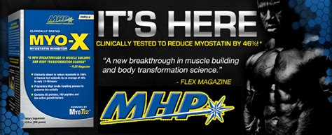 Mhp Myo-x Myostatin Inhibitor Powered By Myo T12 Muscle