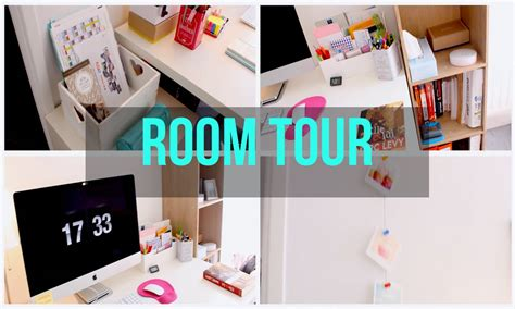 Room Tour + Organisation De Mon Bureau  Back To School