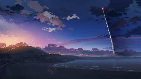 anime nature sunset wallpapers hd desktop  mobile