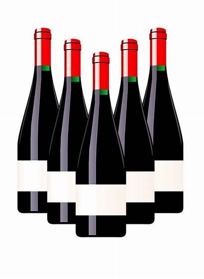 Wine Bottle Clipart Transparent Background Label Clip