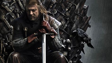 game  thrones ned stark iron throne hd wallpapers