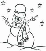 Snowman Coloring Pages Printable Abominable Getcolorings Print sketch template
