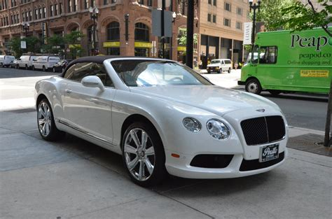 2013 Bentley Continental Gtc V8 Stock # Gc1956 For Sale