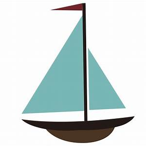 Sailboat free clip art sailing - Clipartix