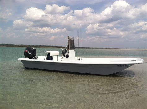 Skiff Boat Molds For Sale by 18 Shoal Runner Skiff Suzuki Power Sold The Hull