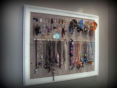 rangement pour boucles d oreilles cadre porte bijoux œillets pour les boucles d oreilles crochets pour les bracelets et poign 233 es