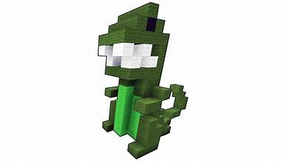 Minecraft Dinosaur Build Building Awesome Pixel 3d