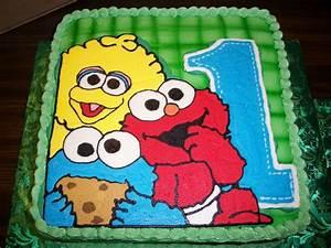 Sesame Street 1St Birthday - CakeCentral com