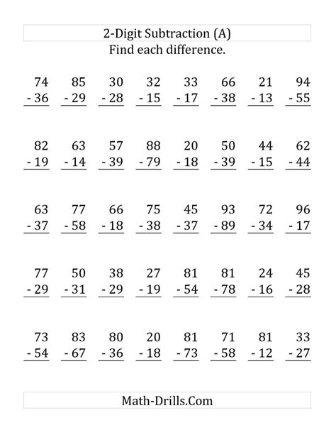 Add 23 and 40 without regrouping is. 2 Digit Addition With Regrouping Pdf : Click on the ...