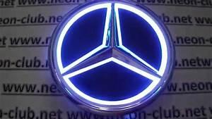 Benz Cars Light  Mercedes Emblem And Badge Ebay