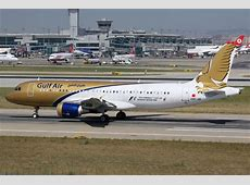 Gulf Air Airbus A320 Istanbul Airport Editorial Stock